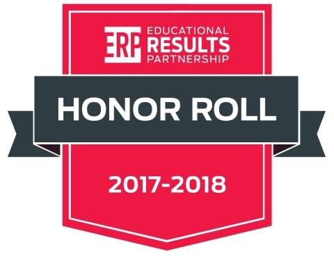Royal Oak Middle School is a 2017-18 Honor Roll Recipient